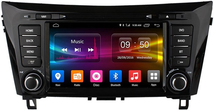 CarMedia OL-8667 для Nissan Qashqai II 2014+, X-Trail 2015+ на Android  6.0 - фото 5529