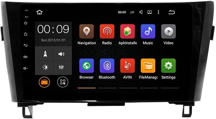 Штатное головное устройство Roximo 4G RX-1202 для Nissan Qashqai 2 на Android 6 - фото 5877