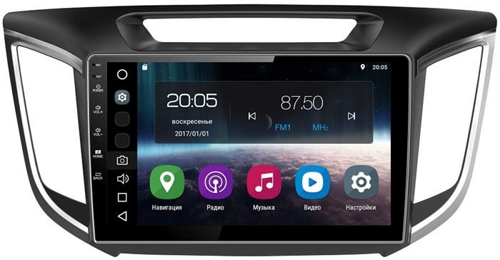 Штатная магнитола FarCar S200 для Hyundai Creta 2016-2017 на Android 8.0 (V407R-DSP) - фото 67804