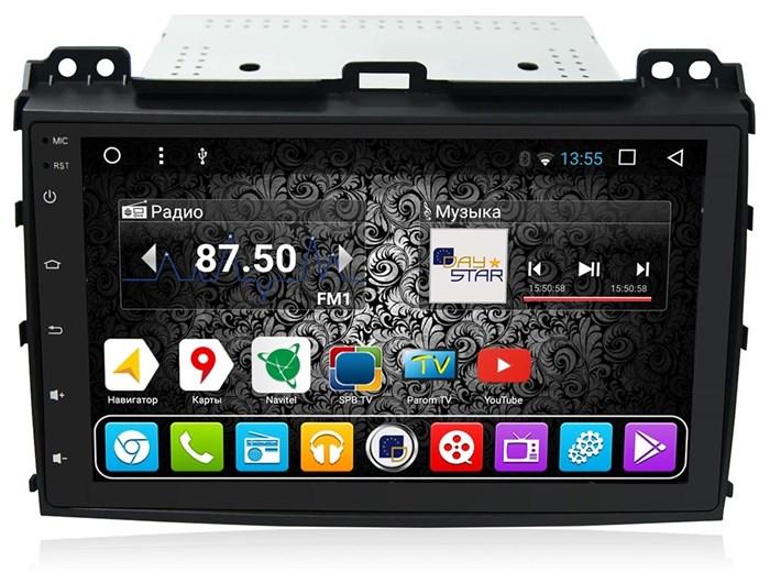 DayStar DS-8001HB для Toyota LC Prado 120 на Android 9.0 - фото 8108