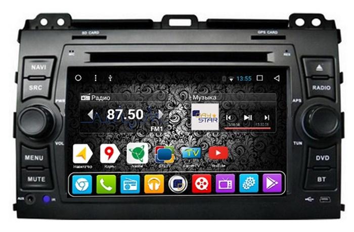 Штатное головное устройство DayStar DS-8001HD для Toyota LC Prado 120 Android 8.1 (8 ядер) - фото 8119