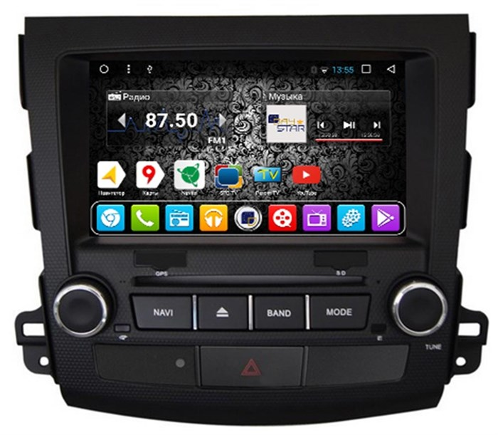 DayStar DS-8007HD для Mitsubishi Outlander XL на Android 9.0 - фото 8295