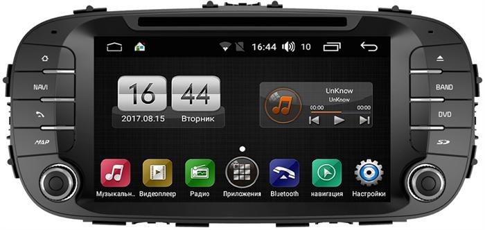 Штатная магнитола FarCar s170 для KIA Soul на Android (L526) - фото 8748