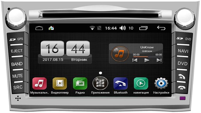 Штатная магнитола FarCar s170 для Subaru Outback (2009-2014) на Android (L061) - фото 9519