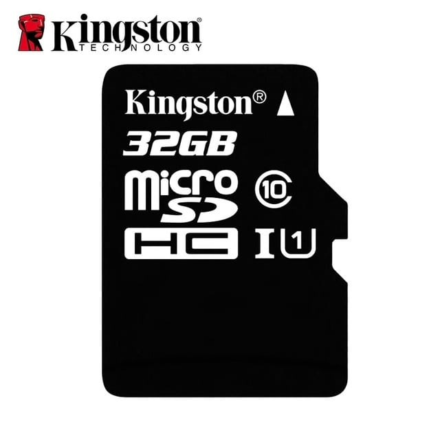 Карта памяти MicroSD Kingston 32 GB - фото 97760