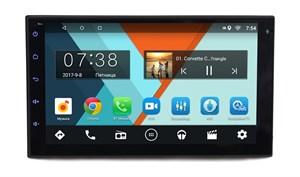 Универсальная бездисковая станция 2 din Wide Media MT7001 Android (1024*600) (+ разъемы Nissan)