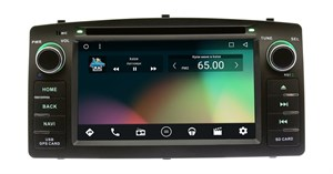 Штатная магнитола Wide Media WM-CH6A900MA для Toyota Corolla IX 2000-2007 на Android 6.0.1