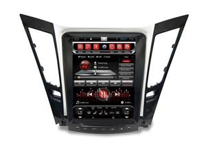 Штатная автомагнитола CarMedia SP-10405-T8 Tesla-Style для Hyunday SONATA YF 2010-2013