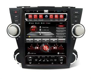 CarMedia SP-12107-T8 Tesla-Style для Toyota Highlander 2007-2013 U40
