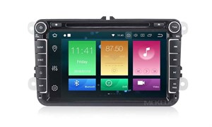 CarMedia MKD-8019-P6 для Skoda Fabia, Superb, Roomster, Rapid, Octavia II (A5), Yeti на Android 9.0
