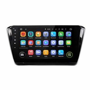 Штатная магнитола CarMedia KD-1027-P3-7 Skoda Superb III 2015-2017 Android 7.1