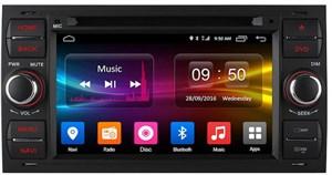 CarMedia OL-7295 для Ford Kuga, Fiesta, Fusion, C-MAX, Focus, Mondeo, S-MAX (серебро) на Android 6.0