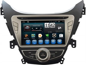 Штатная автомагнитола CarMedia KR-8011-T8 Hyundai Elantra V (MD) 2011-2014 на Android 7.1