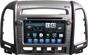 CarMedia KR-7031-3-T8 Hyundai Santa Fe II 2006-2010 (3 кнопки) на Android 7.1