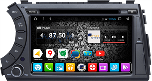 Штатное головное устройство DayStar DS-7005HD для SsangYong Kyron ANDROID 8.1