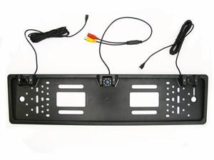 Камера заднего вида в рамке с парктрониками