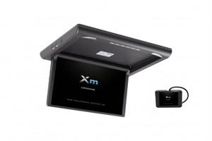 """Моторизированный потолочный монитор XM-1360RDUD (13.3"""" FullHD), черный"""