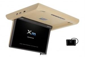 """Моторизированный потолочный монитор XM-1360RDUD (13.3"""" FullHD), бежевый"""