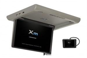 """Моторизированный потолочный монитор XM-1360RDUD (13.3"""" FullHD), серый"""