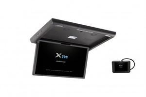 """Моторизированный потолочный монитор XM-1760RDUD (17.3"""" FullHD), черный"""