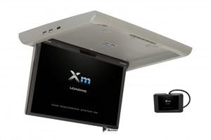 """Моторизированный потолочный монитор XM-1760RDUD (17.3"""" FullHD) серый"""