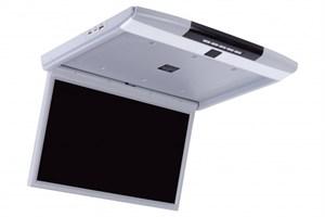 """Автомобильный потолочный монитор 17.3"""" со встроенным медиаплеером ERGO ER17S (FullHD 1920x1080) серый"""