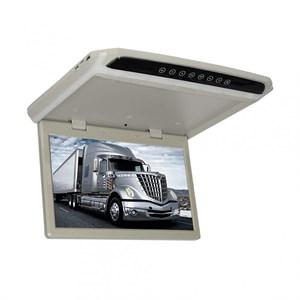 """Автомобильный потолочный монитор 17.3"""" со встроенным медиаплеером ERGO ER174FH (FullHD 1920x1080) серый/черный"""