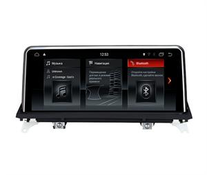 Штатная магнитола FarCar NBT для BMW X5 (E70) 2010-2013, X6 (E71 E72) 2012-2014 на Android 6.0.1 (B3009)