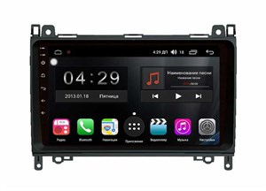 Farcar RG068R (S300)-SIM 4G с DSP для Mercedes-Benz B-klasse (W245) на Android 9.0