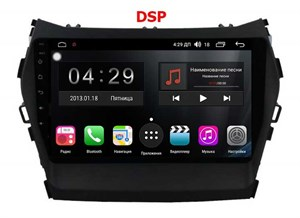 Farcar RG209R (S300)-SIM 4G с DSP для Hyundai Santa Fe 2012+ на Android 8.1