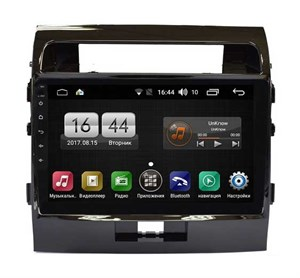FARCAR LX381R (S195) с DSP для Toyota Land Cruiser 200 2007-2015 на Android 8.1