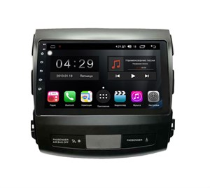Farcar RG056R (S300) SIM-4G с DSP для Mitsubishi Outlander XL 2006-2012 на Android 9.0