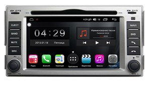 Farcar RG008 (S300) SIM-4G с DSP для Hyundai Santa Fe на Android 8.1