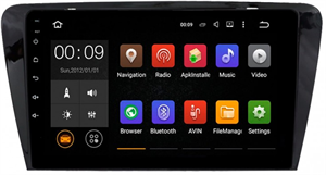 Штатная магнитола Roximo 4G RX-3201 для Skoda Octavia A7 (Android 6.0)