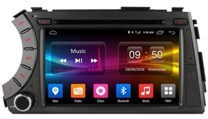 CarMedia OL-7780-MTK для SsangYong Kyron, Korando, Actyon на Android  6.0
