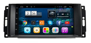 Штатная магнитола CarMedia DAJP-8718 для Dodge Avenger, Caliber, Caravan на Android 6.0.1