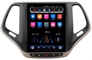 CarMedia OL-9256-9-MTK для Jeep Cherokee IV (WK2) 2013-2017 Tesla Style на Android  6.0