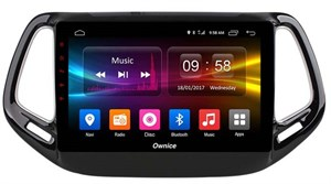 CarMedia OL-1255-MTK для Jeep Compass II 2017-2018 на Android  6.0
