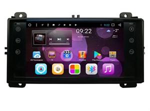 Штатная магнитола Vomi ST2737-T8 для Jeep Grand Cherokee 2010-2013 (красная подсветка) на Android 8.1.0