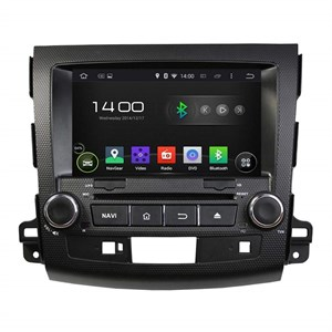 CarMedia KD-8063-P5 для Mitsubishi Outlander XL 2006-2012 на Android 9.0