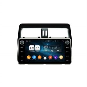 CarMedia KD-1007-P5 для Toyota Land Cruiser Prado 150 2017+ на Android 9.0