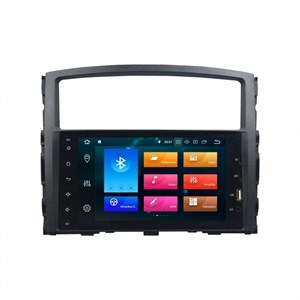 "CarMedia KD-8238-P5 8"" для Mitsubishi Pajero IV 2006-2015 (V97/V93) на Android 9.0"