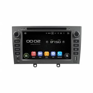 CarMedia KD-7604-g-P6 для Peugeot 308 I, 408, RCZ I 2010-2017 серый на Android 9.0
