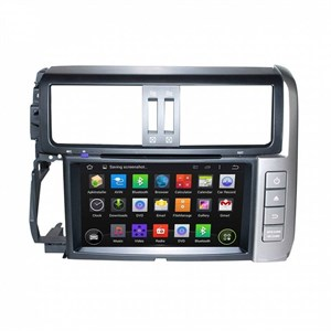 CarMedia KD-8015-P6 для Toyota Land Cruiser Prado 150 2009-2013 серебро на Android 9.0