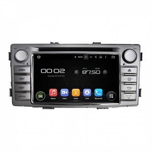 CarMedia KD-6230-P6 для Toyota Hilux VII, Fortuner I 2011-2017 на Android 9.0