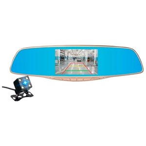 Автомобильный видеорегистратор + зеркало XPX ZX817