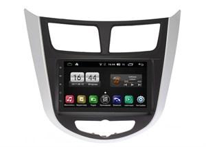 Штатная магнитола FarCar s195 для Hyundai Solaris 2010-2016 на Android (LX832-210644)