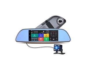 Зеркало-видеорегистратор Universal на Android v007