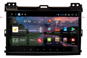 Redpower K 51182 R IPS DSP для Toyota Land Cruiser Prado 120 2002-2009 на Android 8.1