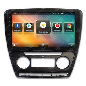 IQ NAVI TS9-2504PFHD (DSP и 4G-SIM) для Skoda Octavia (A5) (2004-2013) на Android 8.1.0